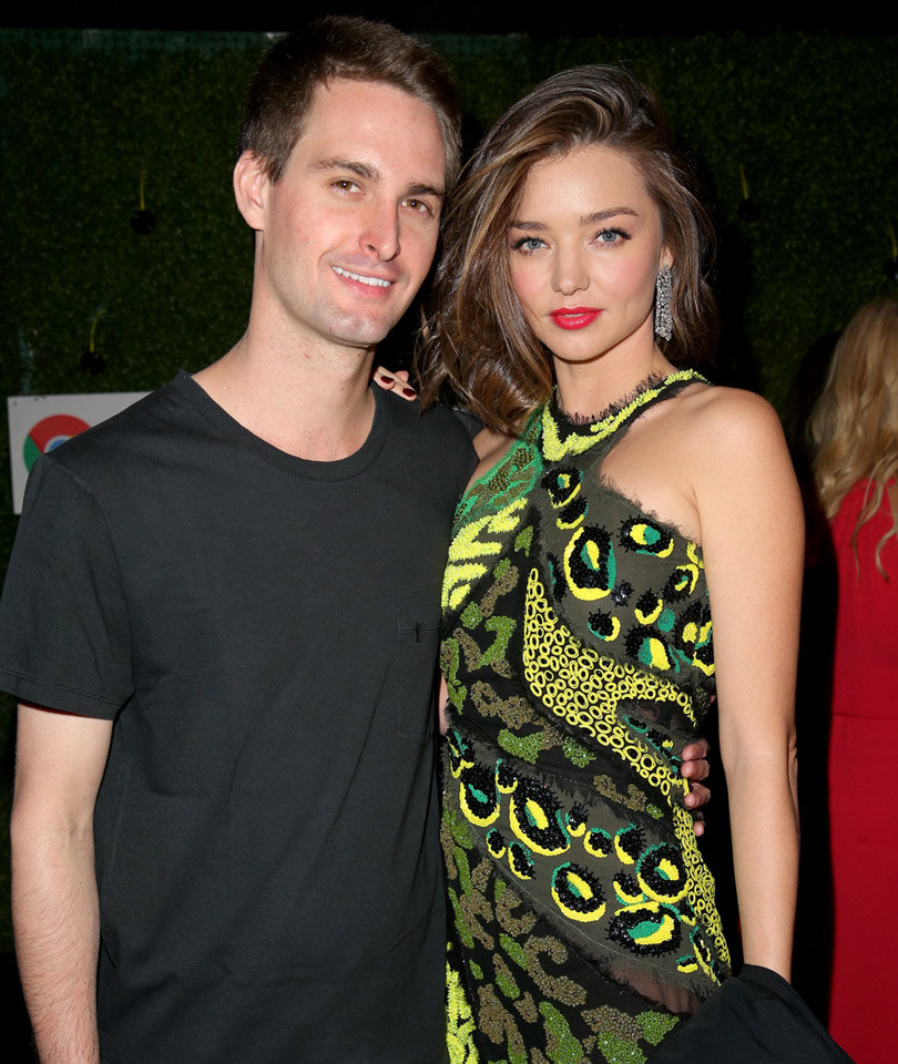 Miranda Kerr Is Engaged to Snapchat Founder Evan Spiegel -- See Her Stunning Ring!