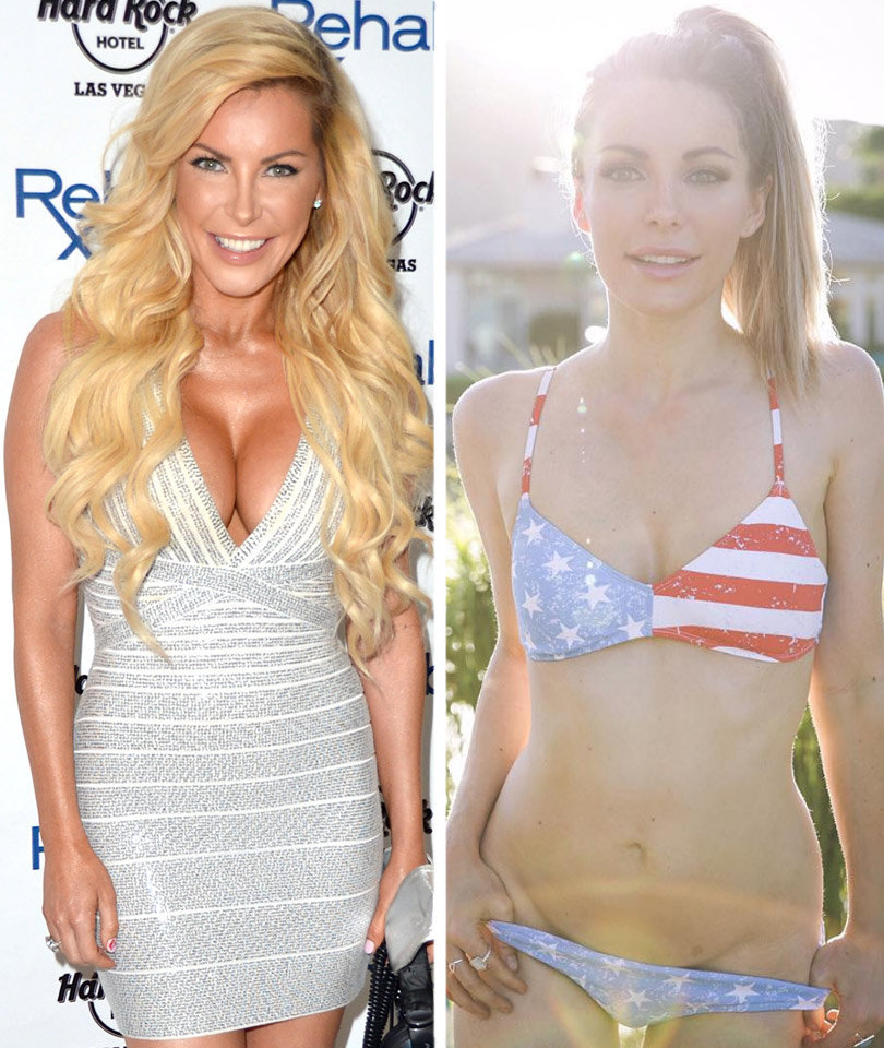 "Crystal Hefner Removes Her Breast Implants -- They ""Slowly Poisoned Me!"""