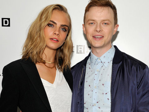 "Cara Debuts New 'Do & Tatt, Talks ""Badass"" Role!"