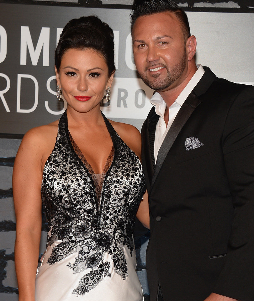 See Adorable Pic of JWoww's Son Greyson -- As His Dad Jokes About His Weight!