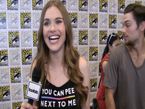 Comic-Con 2016: Holland Roden Teases Stydia, Malia Relationships