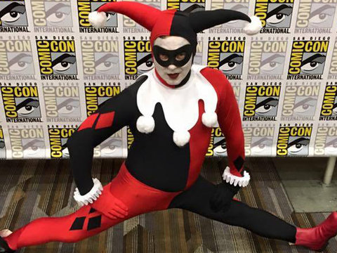 See Which Star Dressed as Harley Quinn at Comic-Con This Year!