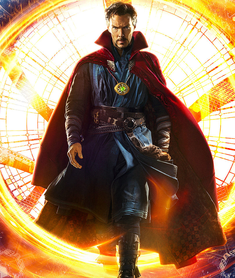 """New """"Doctor Strange"""" Trailer Unleashes Major Magic -- See Benedict In Action!"""