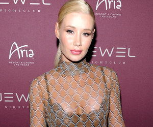 Dig Her See-Through Style? Iggy Flashes Bra In Sheer Top