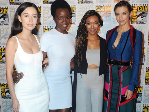 "The Women of ""The Walking Dead"" Go Glam at Comic-Con 2016"