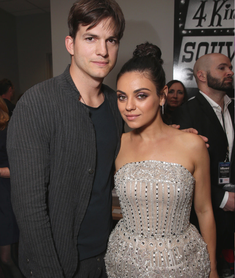 """Mila Kunis Gets Grilled on Ashton Kutcher's Penis Size: """"Carrot Stick or Beer Can?"""""""