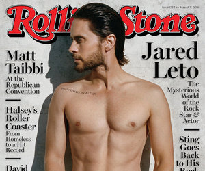 Jared Leto Shows Off Shredded Stomach For Rolling Stone, Talks Past Drug Use:…