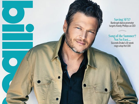 "Blake: ""Gwen Stefani Saved My Life"" After Divorce"