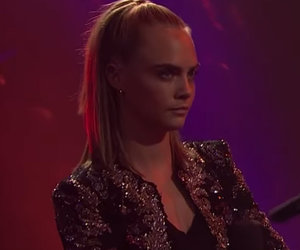 Cara Blasts Dave Franco, James Corden In Rap Battle