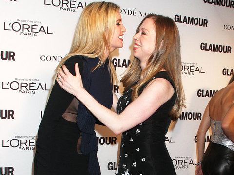 """Chelsea Clinton Considering """"Daughter Summit"""" with Longtime Friend Ivanka Trump"""