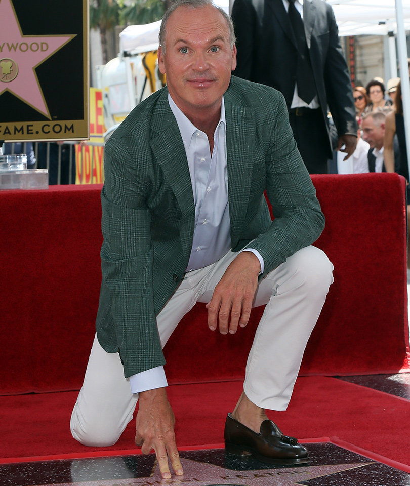 Congrats! Michael Keaton Gets His Hollywood Walk of Fame Star