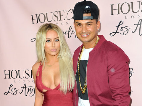 Aubrey O'Day Shares TMI About Pauly D's Penis Piercing Before Split