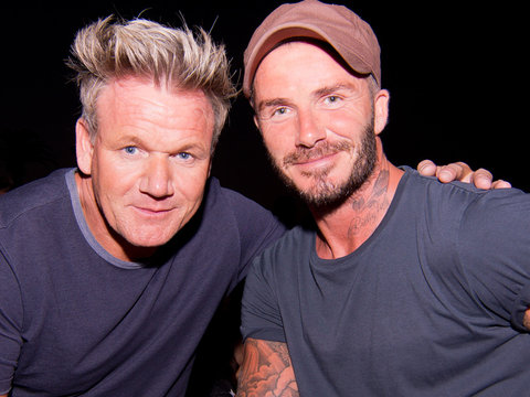 David Beckham's Date Night with Gordon Ramsay & More Hot Hollywood Photos!