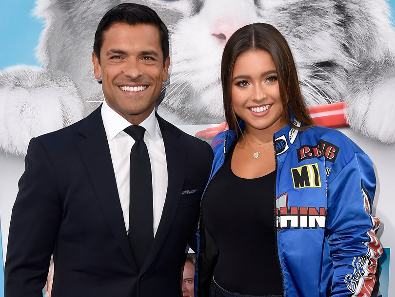 Mark Consuelos Hits the Red Carpet with Teenage Daughter, Lola