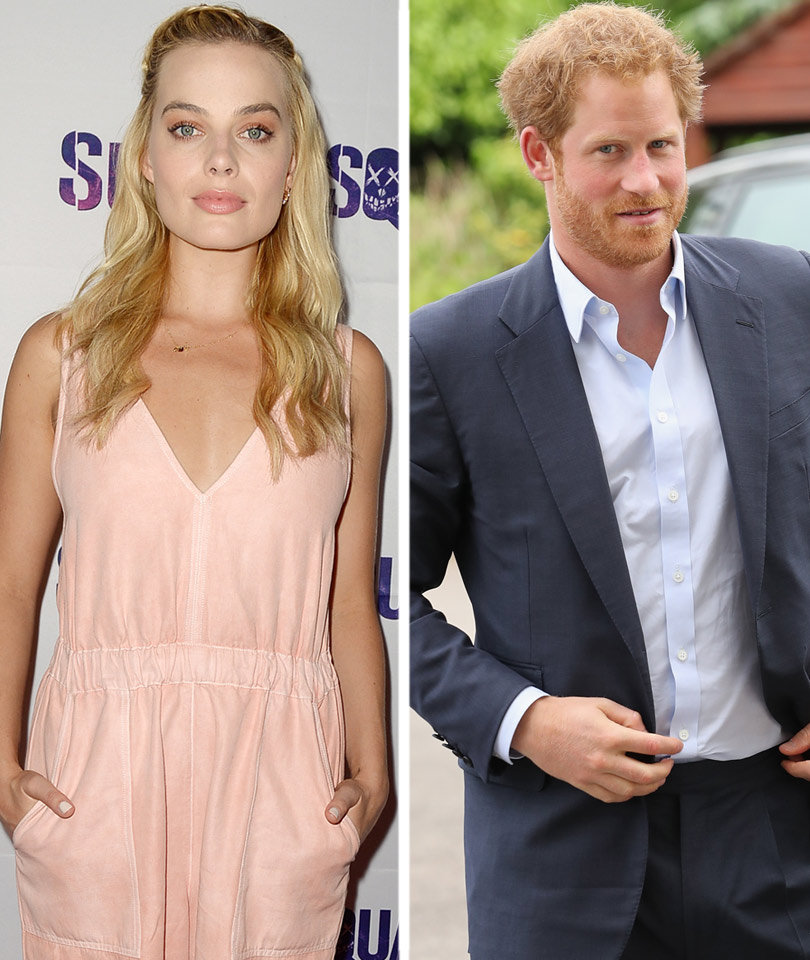 Margot Robbie Is Text Buddies with Prince Harry