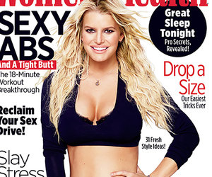 Simpson Says Hubby Loves Her Big Boobs In Women's Health