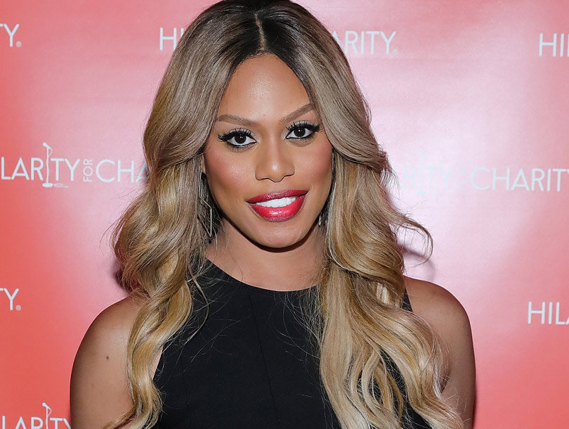 Laverne Cox Shows Off Flawless Skin in Makeup-Free Selfie