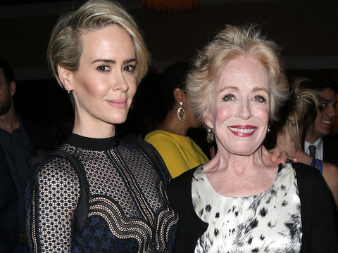 Sarah Paulson Enjoys Date Night with Holland Taylor At 32nd Annual TCA Awards