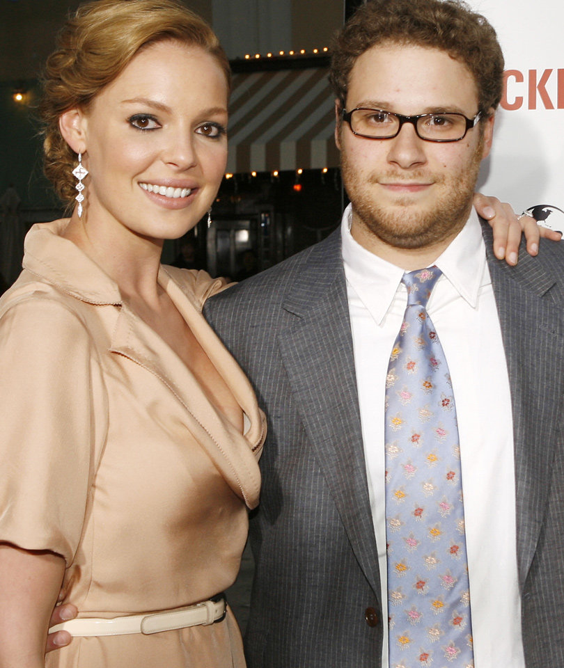 "Rogen Says He Thought Heigl Hated Him After ""Knocked Up"""