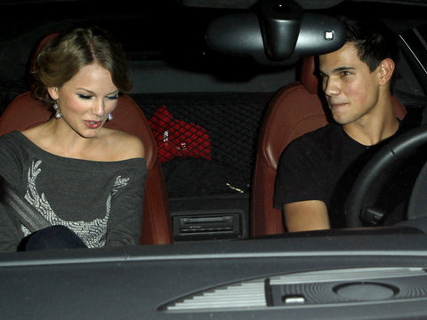 Awkward! Lea Michele & John Stamos Grill Taylor Lautner About Dating Taylor Swift