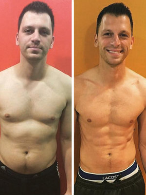 """RHONJ's"" Albie Manzo Got Secretly RIPPED!"