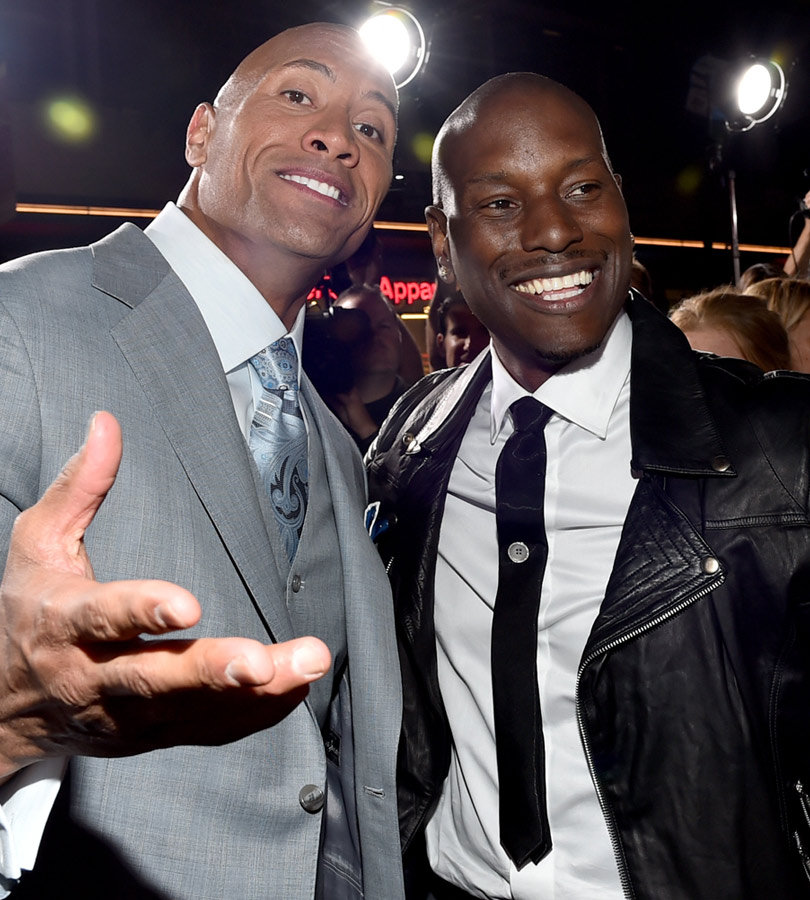 "Tyrese Speaks on The Rock's ""Fast & Furious 8"" Attack -- We Never Had a Problem!"