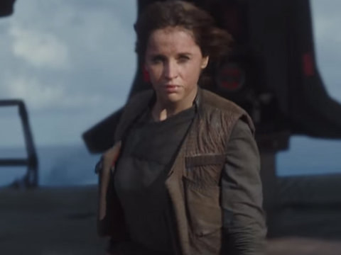 """See The New Action-Packed Trailer For """"Rogue One: A Star Wars Story"""""""