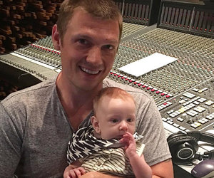 Nick Carter Hits the Studio With His Adorable Son Odin Reign