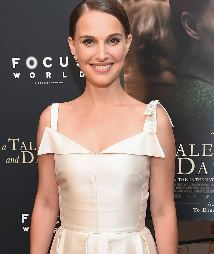 """Natalie Portman Is Sophisticated and Gorgeous at """"A Tale Of Love &…"""