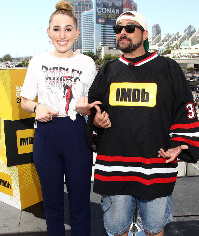 Kevin Smith Goes After Internet Troll Who Mocked His 17-Year-Old Daughter