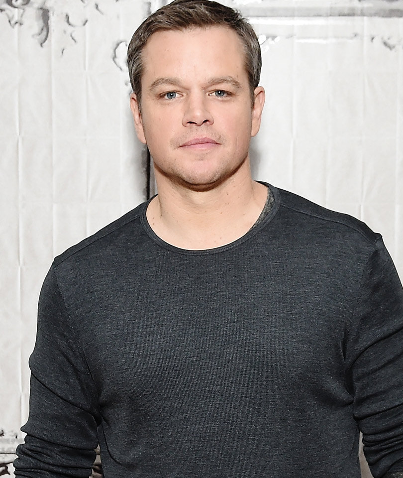 Matt Damon's Man Bun Is Back -- Is His Hair Better Long or Short?!