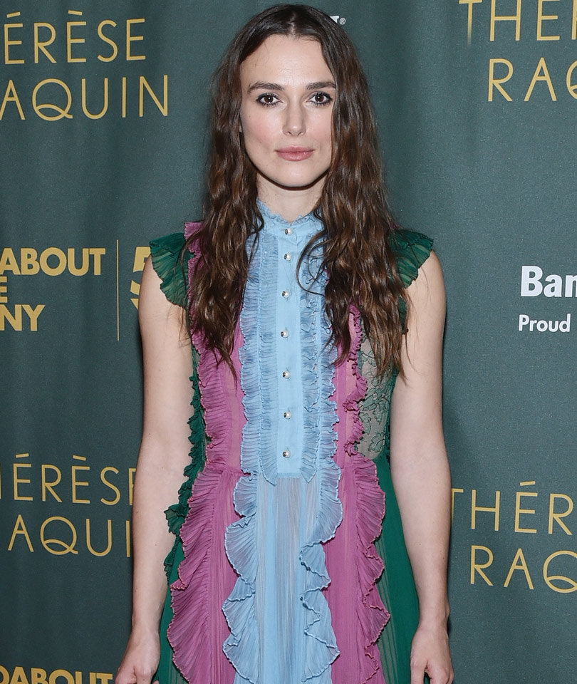 """Keira Knightley Admits to Wearing Wigs: """"My Hair Began to Fall Out!"""""""