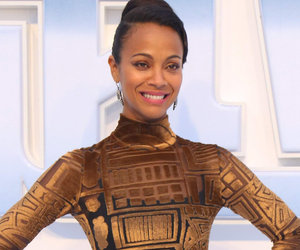 "Zoe Goes Futuristic For (Another) ""Star Trek"" Premiere"