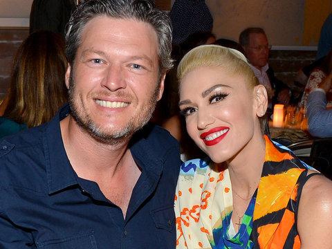Blake Shelton & Gwen Stefani Enjoy Date Night at Apollo in the Hamptons
