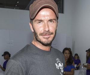 David Beckham Gets Another Neck Tattoo ... of a Horse?!