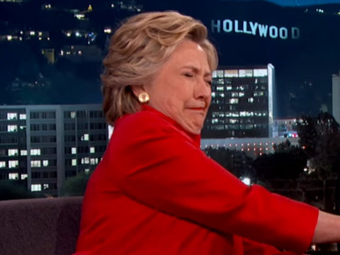 """Clinton Proves She's """"Strong Enough"""" to Be President"""
