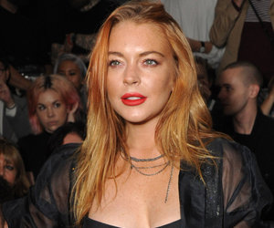 Lindsay Lohan Slays in Sexy Black One-Piece