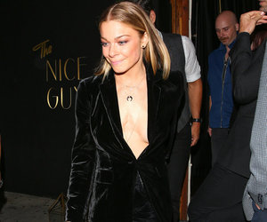 LeAnn Rimes Kicks Off Birthday Celebrations with Sexy Cleavage-Baring Look