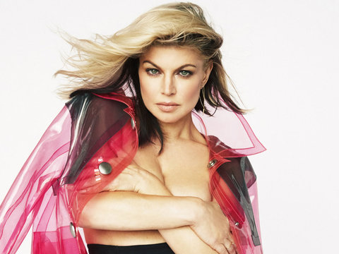 Fergie Goes Topless, Reveals Why She Took a Break