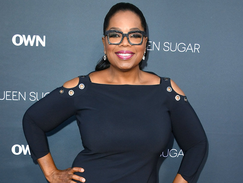 "Oprah Winfrey Flaunts Weight Loss In LBD: ""I Can Straddle Stedman w/o Breaking…"