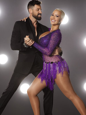 "Amber Rose Squeezes Into Sequins In ""DWTS"" Promo Pic"