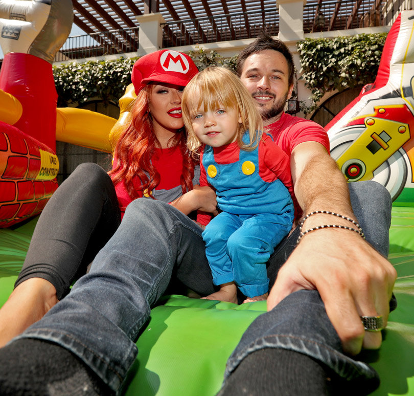 See Inside the Amazing Mario-Themed B-Day Bash Christina Aguilera Threw for Daughter Summer Rain