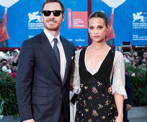 Fassbender & Vikander Make Red Carpet Debut as a Couple