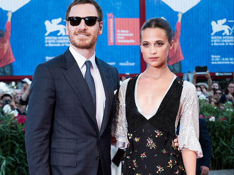 Fassbender & Vikander Make Red Carpet Debut as a Couple