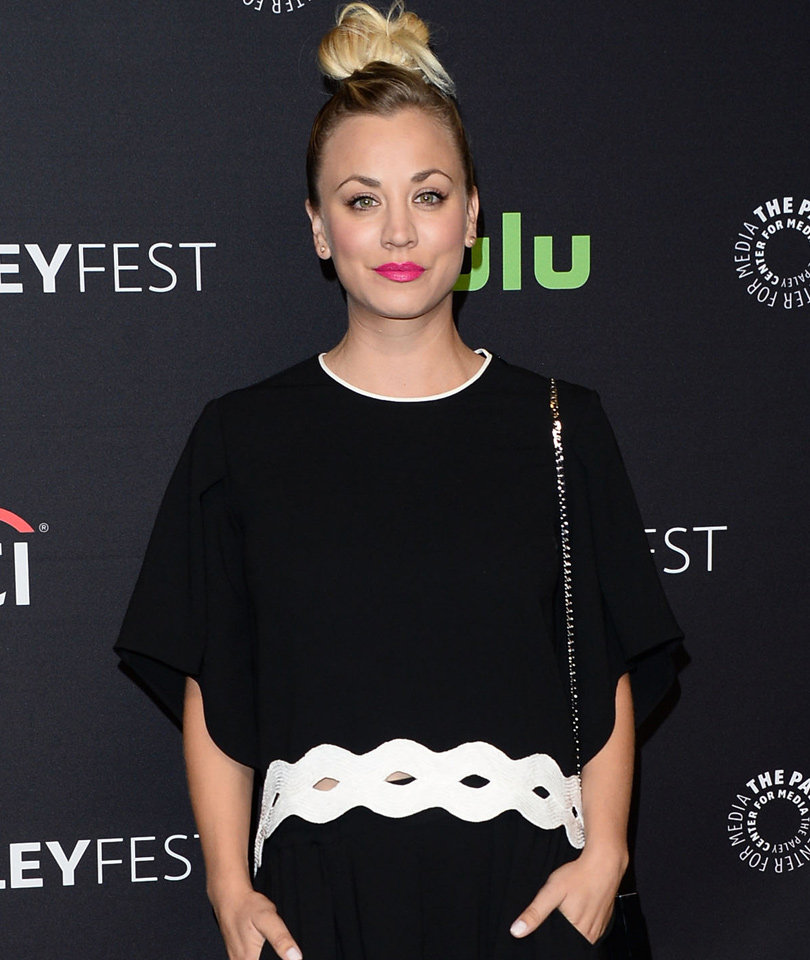 Kaley Cuoco Flashes Her Bare Breast on Snapchat