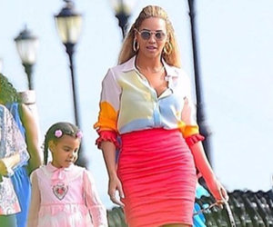 Beyonce & Blue Ivy Walk New Pup In NYC -- See Super Cute Photos!