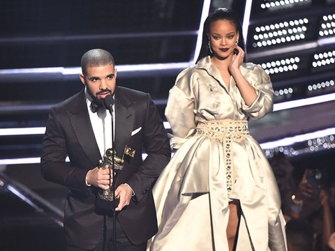 Rihanna Admits She Loves Drake After His VMAs Speech