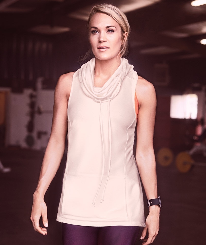 Carrie Underwood Looks Toned As Can Be In New Activewear Campaign
