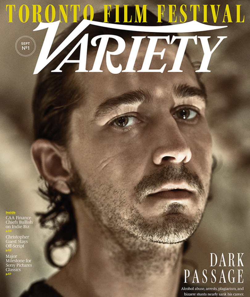 """Shia LaBeouf Gets Candid About Hard Partying Past: """"I Got A Napoleonic Complex"""""""