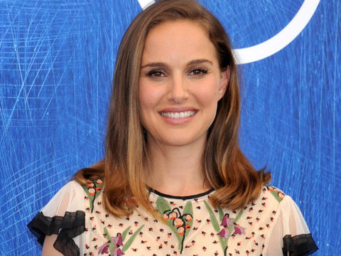 Natalie Portman is Adorable In Floral at Venice Film Festival